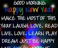 good morning happy new year pictures photos images and pics for