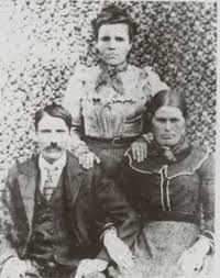 Abraham Potter, Sarah Sally Wright and Margaret Peggy Newsome