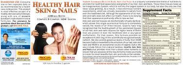 healthy hair skin nails 60
