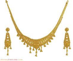 indian gold necklace set designs