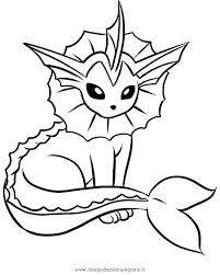 Pokemon Vaporeon Coloring Pages Coloring Home