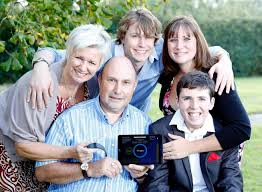 Marden father and son team Adrian and Chris Perry invent epilepsy app to  warn of fits