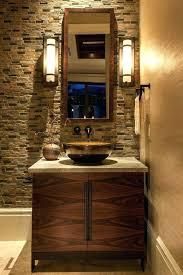 half bathroom ideas with vessel oryat org