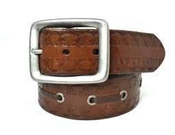 doyle brown genuine leather belt