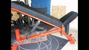 diy incline and flat powerlifting bench