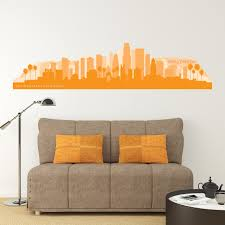 Los Angeles Skyline Wall Decal By American Decals