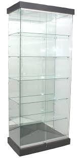 frameless glass cabinet showcases