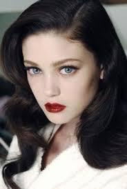 makeup brown hair blue eyes fair skin