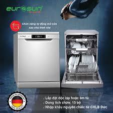 Máy Rửa Chén Eurosun SMS56EU05E Nhập Đức   Khuyến Mãi Lớn   Eurosun Việt  Nam - Thiết Bị Nhà Bếp Đức Chính Hãng