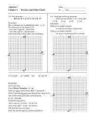 practice and study guide y x y x y x