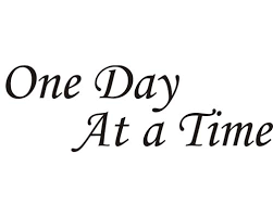 One Day At A Time Vinyl Automotive Lettering Vinyl Graphics Decals