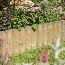 Rowlinson 12 Inch Border Fence 1m Pack Of 2 Homebase