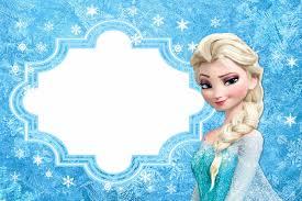 Frozen Tarjetas O Invitaciones Para Imprimir Gratis Tarjetas