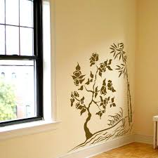 Bamboo And Bonsai Sea Grass Wall Decal Sticker Graphic