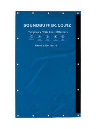 Soundbuffer Noise Control Acoustic Fencing Temporary Noise Control Auckland New Zealand