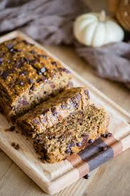 healthy pumpkin oatmeal banana bread