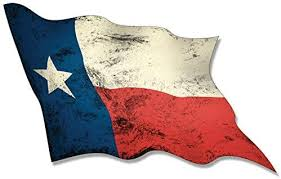 Amazon Com Magnet 3x5 Inch Vintage Waving Texas Flag Sticker Decal Distressed Secede Tx Lone Wave Magnetic Vinyl Bumper Sticker Sticks To Any Metal Fridge Car Signs Kitchen Dining