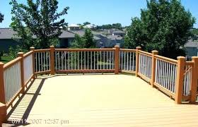 Deck Privacy Fence S Netting Screen Wood Lowes Ideas Fences For Decks Designs Home Elements And Style Vinyl Wooden Duplex A Colonial Panels Partitions Crismatec Com