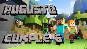 Minecraft Video De Invitacion O Cumpleanos De Para Whatsapp O Redes Sociales Youtube
