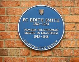 File:Edith Smith blue plaque in Grantham.JPG - Wikimedia Commons