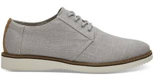 grey linen men s preston dress shoes