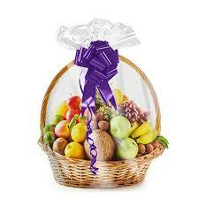 shrink wrap 5 pack basket bags for gift