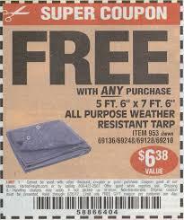 harbor freight coupon free tarp