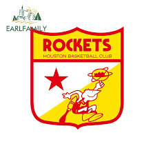 Earlfamily 13cm X 11 8cm For Houston Rockets Shield Car Stickers Repair Sticker Car Truck Decal Simulation Fun Vinyl Car Wrap Car Stickers Aliexpress