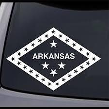 2 Arkansas State Flag Ar Home Permanent Vinyl Decal Laptop Window Car Sticker 8 Ebay