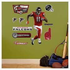 Nfl Atlanta Falcons Fathead Decorative Wall Art Set 40 X3 X3 Target