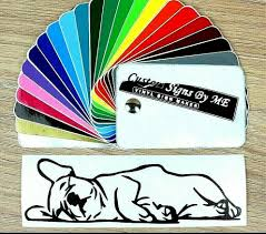 French Bulldog Sleeping Sticker Vinyl Decal Adhesive Wall Window Bumper Laptop B Ebay