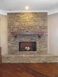 fireplaces custom mantle gas logs