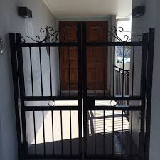 Tubular Design Black Gate Gate Design Fence Design Design
