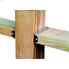 Z Max 4 X 2 G90 Zinc Steel Fence Bracket Braces Kent Building Supplies