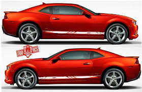 Vinyl Graphics For Chevrolet Camaro Decals Chevy Ss Stripes