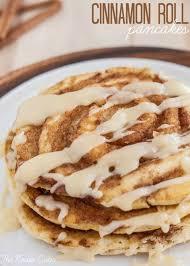 cinnamon roll pancakes image 1112770