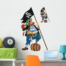 Pirate Themed Wall Decals Custom With Name Sword Design Lego Circo Vamosrayos