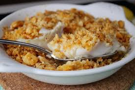Buttery New England Baked Cod