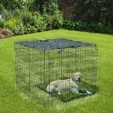 Dog Crate Cage Cover Pet Sun Protection Uv Resistant Outdoor Dog Kennel Shade Cover Durable Suitable For Outdoor Dog Fences Houses Kennels Pens Aliexpress