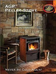 lopi s new agp pellet stove burns all