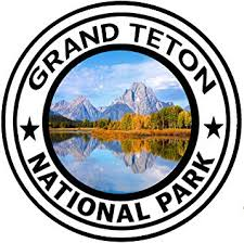 Amazon Com Rogue River Tactical Grand Teton National Park Sticker 5 Round Car Auto Decal Wyoming Automotive