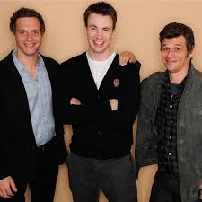Chris Evans, Mark and Adam Kassen at Tribeca Film Festival (Puncture 2011)  (With images) | Chris evans, Robert evans, Tribeca film festival