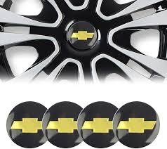 Amazon Com Cardiytools 4pc 65mm 2 56 Auto Car Wheel Center Hub Cap Emblem Badge Decal Sticker Compatible With Chevrolet Automotive