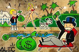 cartoon money bag wallpaper