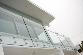 stainless steel glass railing stud
