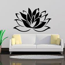 Top Selling Buddhism Lotus Wall Stickers Living Room Removable Art Vinyl Wall Decor Murals Decals Wall Decal Designs Wall Decal For Bedroom From Onlinegame 11 67 Dhgate Com