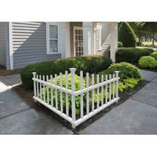 Solar Powered White Garden Border Fence White Set Of 3 Panels Edge Your Garden Or Pathway Stylishly 23 X 14 Each Walmart Com Walmart Com