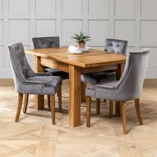 table 4 x storm grey scoop chairs