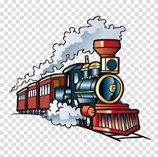 Car Train Rail Transport Locomotive Steam Locomotive Wall Decal Sticker Tren A Las Nubes Transparent Background Png Clipart Hiclipart