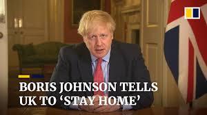 PM Boris Johnson places Britain under ...